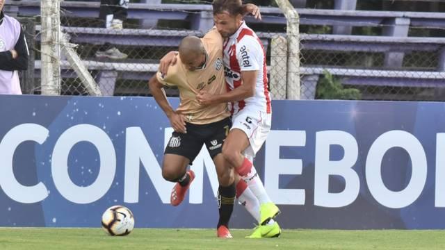O Peixe de Sampaoli estreou na Sul-americana com um  oxo  contra o River  Plate a59ba8d06936d