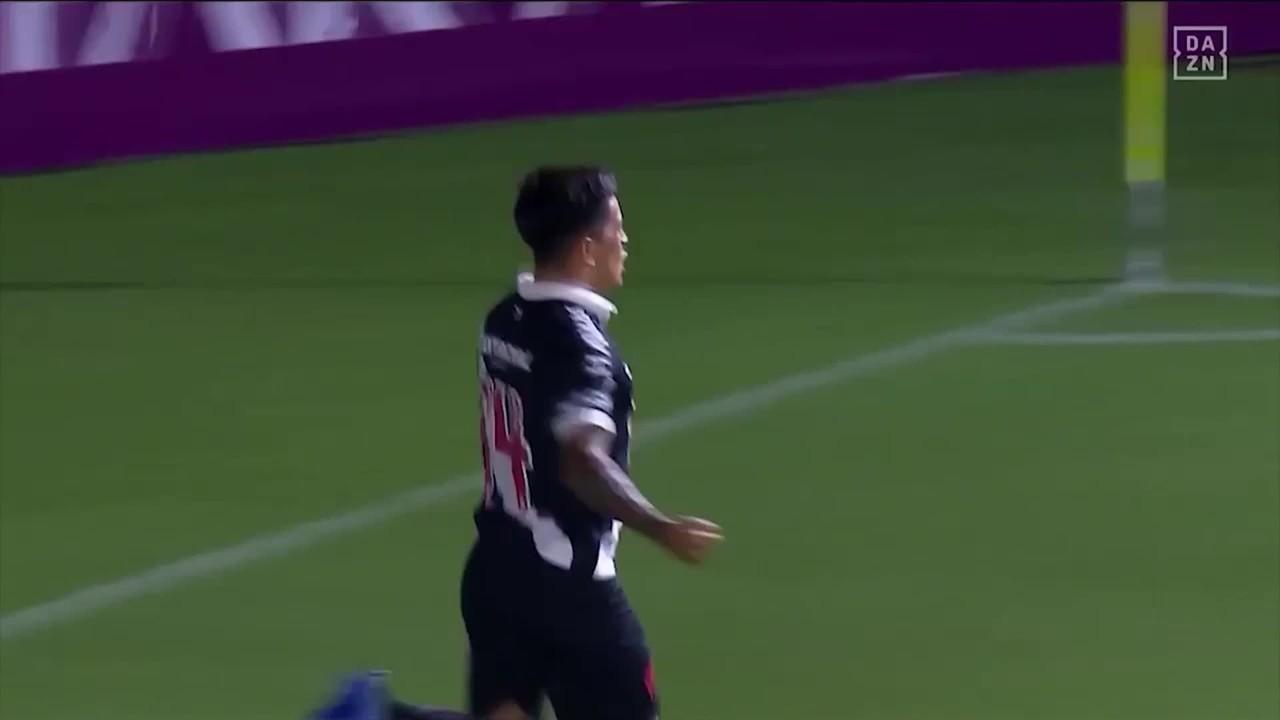 O gol de Vasco 1 x 0 Oriente Petrolero pela Copa Sul-Americana 2020