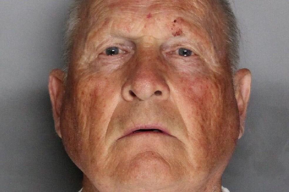 Joseph James Deangelo, de 72 anos, aparece na foto tirada pela polícia (Foto: Sacramento County Sheriff's Department/Handout via REUTERS)
