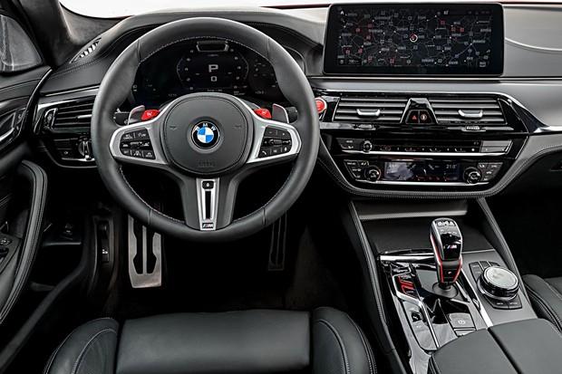 BMW M5 2021 Painel (Foto: Divulgação)