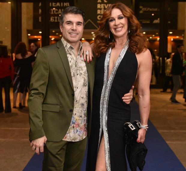 Claudia Raia e Jarbas Homem de Mello (Foto: Leo Franco/AgNews)