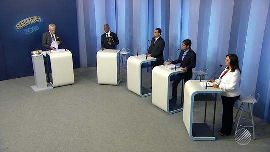 Último debate antes das eleições tem  4 candidatos de Salvador na TV Bahia