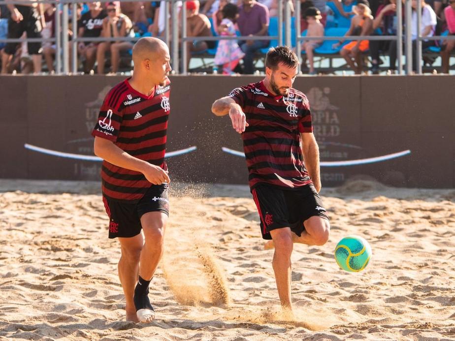 Flamengo vence Levante nos pênaltis e vai à final da Liga Mundial de futebol de areia