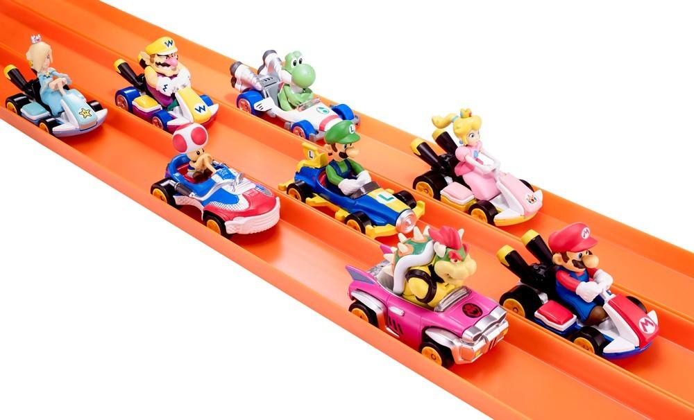 Hot Wheels terá coleção de miniaturas inspiradas em Mario Kart (Foto: Divulgação)