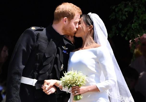 Meghan Markle e o príncipe Harry (Foto: Getty Images)