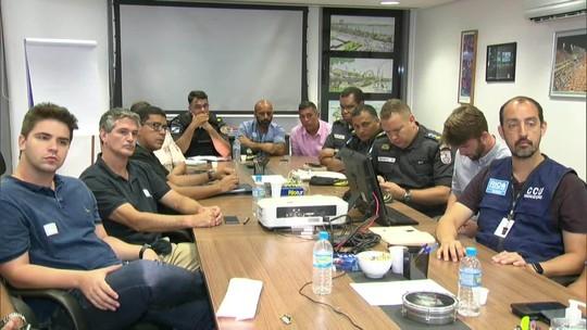 Segurança não sofrerá alterações nos blocos do fim de semana