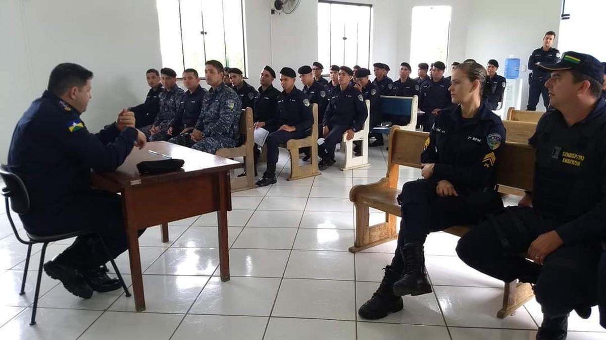36 novos policiais são integrados ao 7º Batalhão da PM em Ariquemes, RO - G1