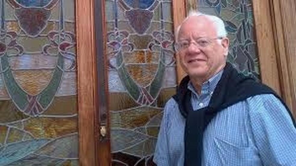 Engenheiro Sérgio Campos Trindade, vítima de Covid-19 em Nova York — Foto: Reprodução/Agência Fapesp/Twitter
