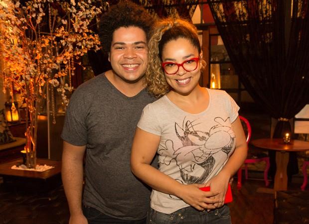 Robson Nunes e a mulher, Micheli Machado (Foto: Foto:  Divulgação)