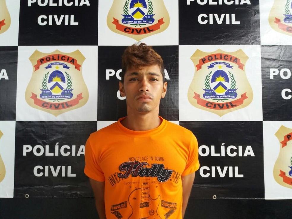 Suspeito teria ficado sem gasolina antes de assalto (Foto: Divulgação/Polícia Civil)