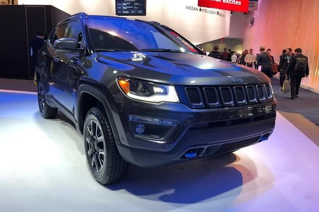 Jeep Compass Hybrid (Foto:  Michelle Ferreira/Autoesporte)