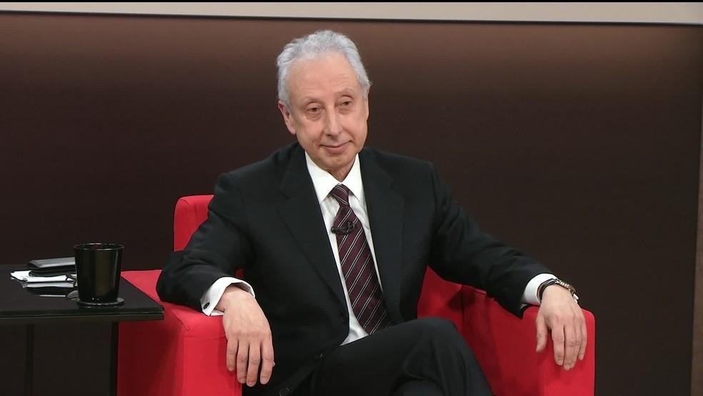 Persio Arida (Gnews) — Foto: Reprodução GloboNews