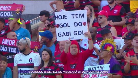 Flamengo se despede do Maracanã em 2019 contra o Avaí