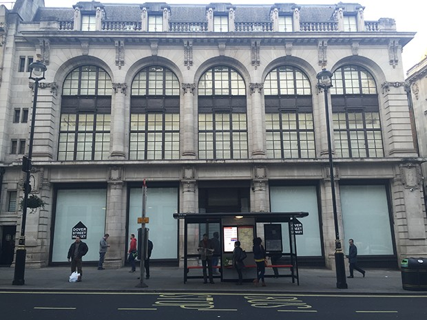 The new Dover Street Market in London's Haymarket in the old Burberry building   (Foto:    )