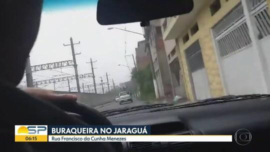 Buraqueira no Jaraguá