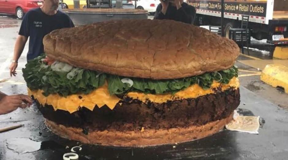 Você encararia o maior hambúrguer do mundo? - Pequenas Empresas Grandes  Negócios | Alimentação