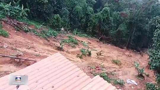 Barrancos e encostas ameaçam desabar no Rio de Janeiro em caso de chuvas