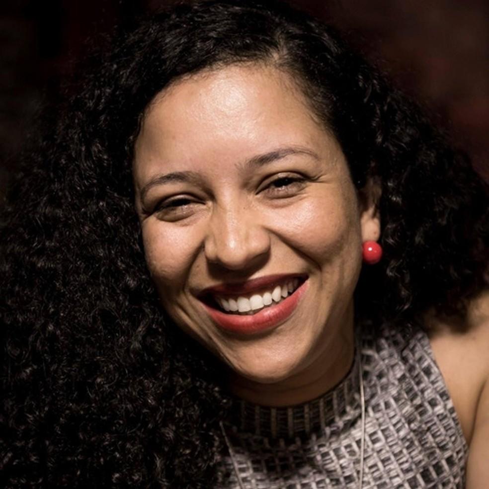 """Sara Loiola fala sobre """"como nasce um festival cultural"""" — Foto: Aruwá Produções"""