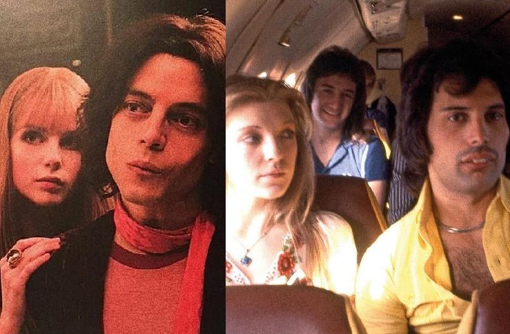 Lucy Boynton, Rami Malek, Mary Austin e Freddie Mercury (Foto: Reprodução Instagram)