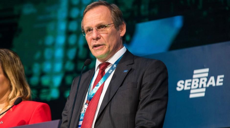 O diretor técnico do Sebrae, Bruno Quick, durante o Congresso Brasileiro de Inovação da Indústria (Foto: Divulgação)