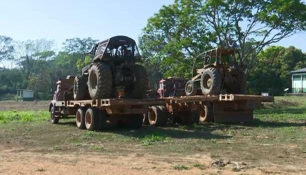 Em operação, Ibama detecta envolvimento de índios na extração e venda de madeira ilegal na Ponta do Abunã