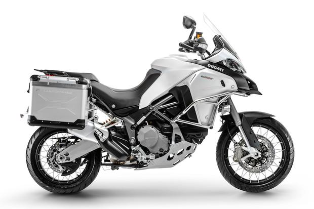 Ducati Multistrada 1200 Enduro Limited Edition (Foto: Divulgação)