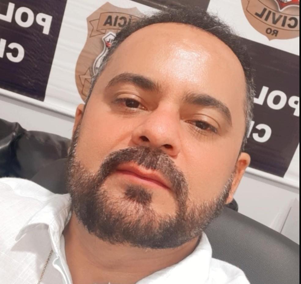 Delegado Valney Calixto foi morto após troca de tiros em casa de eventos de RO — Foto: Facebook/Reprodução