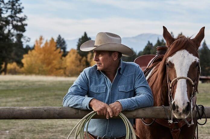 Kevin Costner na série Yellowstone (Foto: Divulgação)