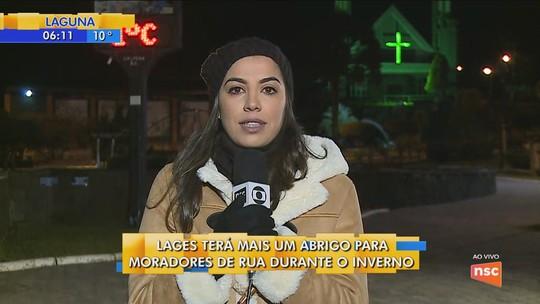 Prefeituras ampliam vagas em abrigos devido ao frio; saiba como ficam os atendimentos em SC