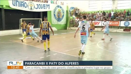 Paracambi garante classificação para as quartas de final da Copa Rio Sul de Futsal