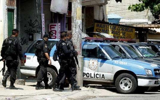 Polícia Militar do Rio de Janeiro (Foto: Wania Corredo / Agência O Globo)