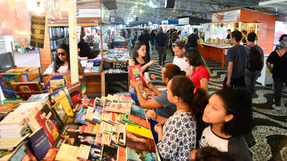 Feira do Livro acontecerá de 1º a 17 de novembro neste ano em Porto Alegre — Foto: Eduardo Beleske/PMPA