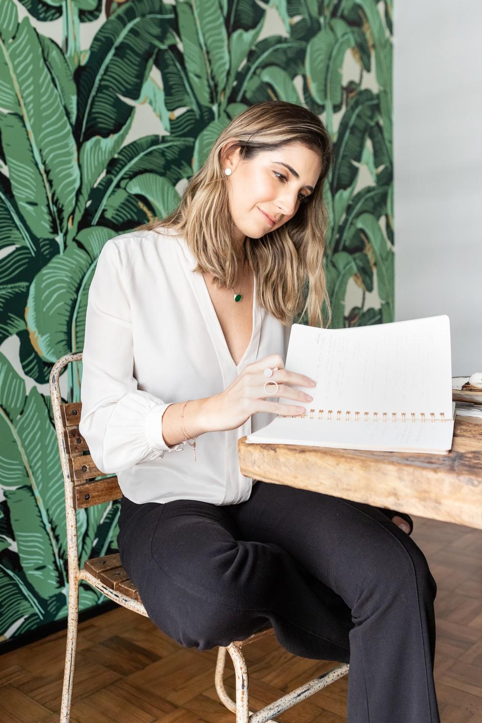 Liana Pandin, do Ateliê das Calças: 'Hoje eu vejo a importância de minha primeira chefe ter sido uma mulher'. — Foto: Divulgação