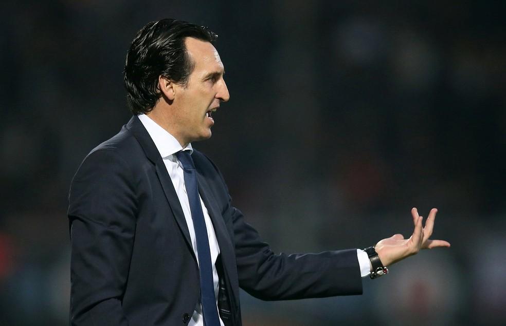 Unai Emery tem emprego ameaçado no PSG desde o fim da temporada passada (Foto: Reuters)