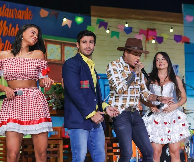 Mariano, Jakelyne Oliveira, Tierry e Gabi Martins (Foto:  Manuela Scarpa/Brazil News)