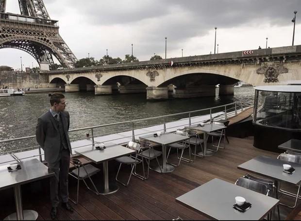 O percurso do jantar dura uma hora e meia (Foto: AFP/ Reprodução)