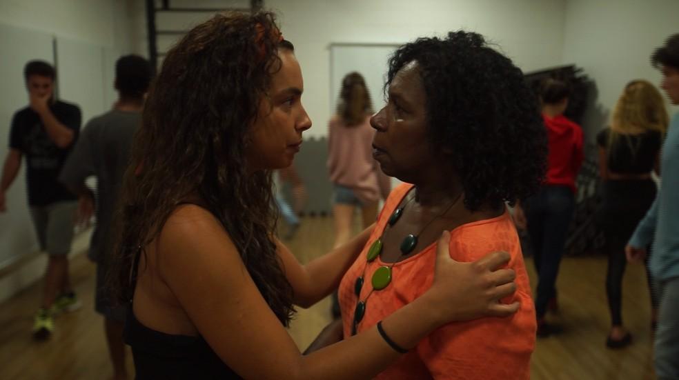 Gabriela Moreyra e Ju Colombo fazem parte do núcleo da escola — Foto: Arquivo pessoal