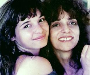 Daniella e Gloria Perez   Arquivo