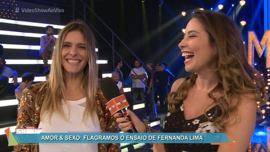 Fernanda Lima sobre filhos na gravação de 'Amor & Sexo': 'Surgem mil perguntas. Algumas eu ainda não respondo'