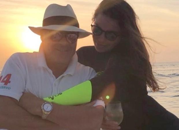Marcelo de Carvalho e Simone Abdelnur (Foto: Reprodução/Instagram)