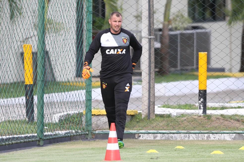 Agenor foi titular na estreia do Sport na Série A, contra o América-MG (Foto: Aldo Carneiro/ Pernambuco Press)