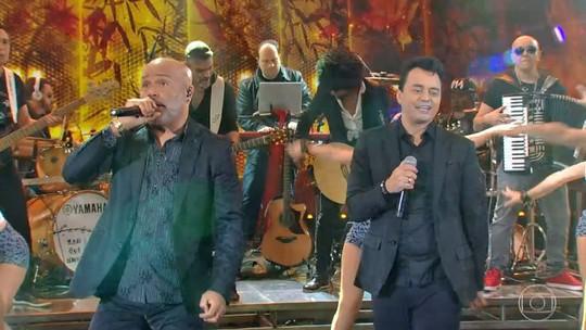 Rick e Renner retomam dupla e cantam no 'Ding Dong'; confira tudo o que rolou!