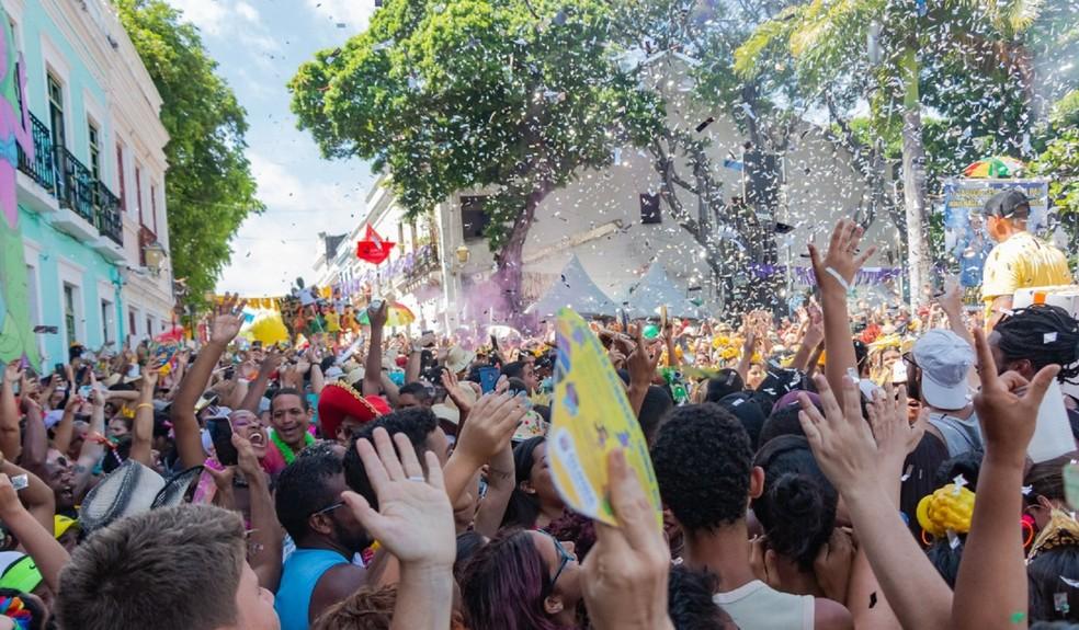 Investimento privado no carnaval de Olinda chega a R$ 8 milhões — Foto: Arquimedes Santos/Arquivo Prefeitura de Olinda
