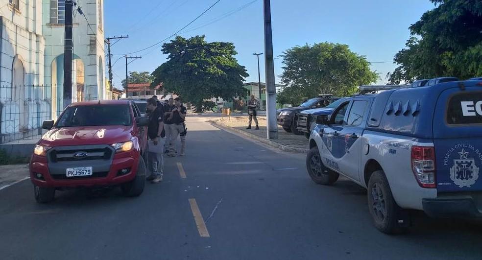 Grupo foi preso durante ação policial em Teodoro Sampaio — Foto: Polícia Civil/ Divulgação