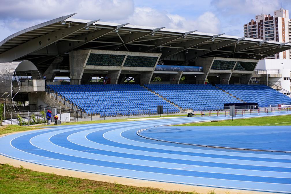 Centro Olímpico de Treinamento da Universidade Federal de Mato Grosso (COT UFMT) — Foto: Marcos Vergueiro/Secom-MT