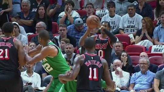 Heat segura reação dos Celtics e encerra sequência de 16 vitórias dos rivais