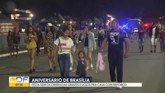 Show da Anitta encerra festa do aniversário de Brasília