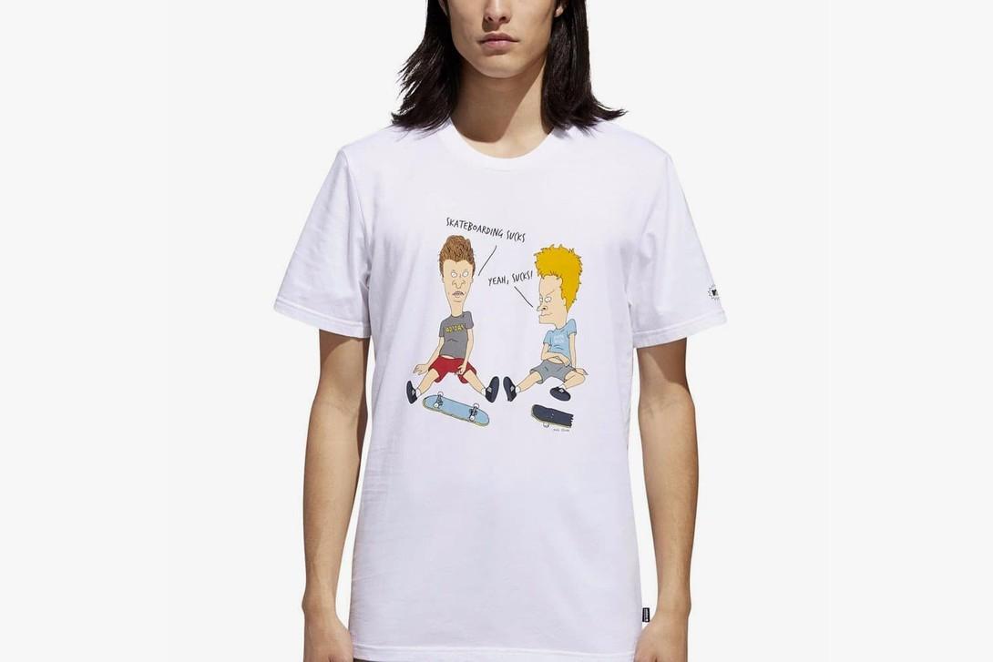 Camiseta da coleção adidas X Beavis e Butt-Head (Foto: Divulgação)