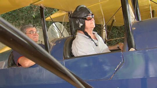 Em Vera Cruz, três amigos se uniram para fazer seu próprio avião