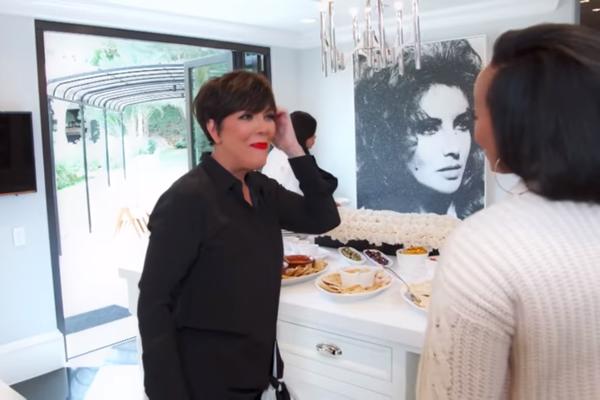 La'Reina fala com Kris Jenner (Foto: Reprodução/YouTube)